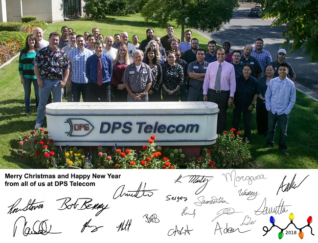 DPS 2018 Christmas Card