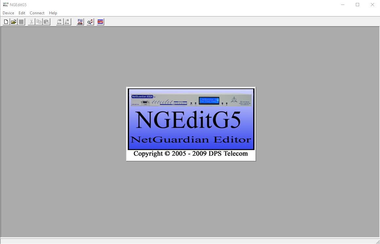 NGEdit Splash Screen