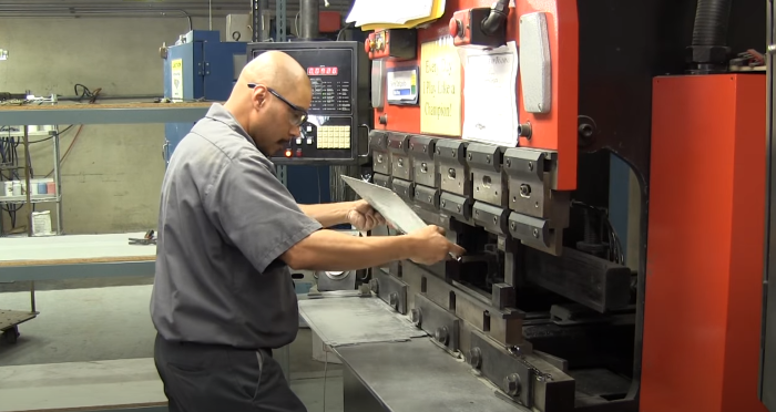 Press brake bending meta