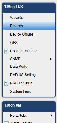 T/Mon Sidenav Devices Highlighted