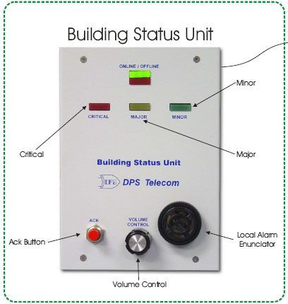 Monitor Building Status with Real-Time LED Alarm Severity Display