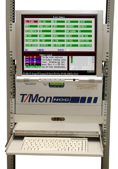 T/Mon NOC Rack Mount LCD and keyboard