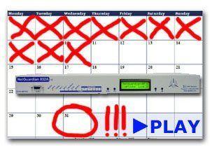 RTU Calendar Deadline