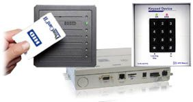 ecu keypad and card security system