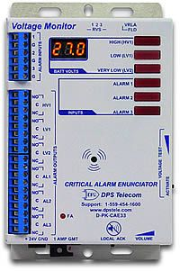 Critical Alarm Enunciator - Front / Side View