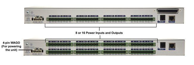 PDU (Power Distribution Unit) with SNMP