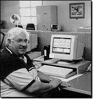 Don Cooper monitors his T/MonXM Workstation