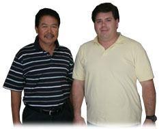 Chuck Thomas and Roberto Deleon